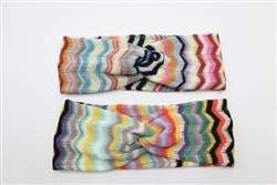 Missoni Print Turban Headband Made in Italy