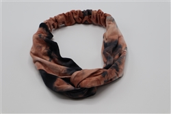 Tie Dye Brown/Black Headband