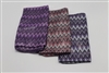 Metallic Missoni Print Scarves