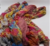 Long Chiffon Flower Scarves