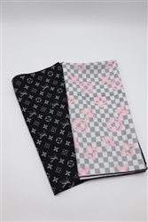 Lv Inspired Headscarves