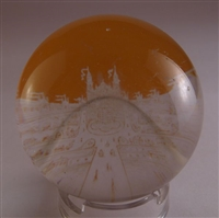 Engraved Amber Flash -- Palias de Trocadero