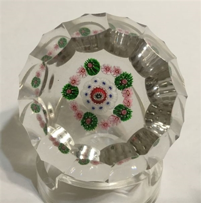 Clichy Open Concentric with faceting