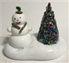 1996 Cape Cod Glass Works Snowman