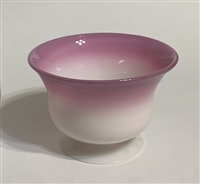Gundersen Peach Blow Bowl