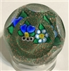 Kaziun Posy and Pansy Paperweight