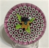 Damon MacNaught Pansy Paperweight