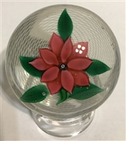 New England Glass Company Poinsettia