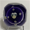 Pairpoint Sulphide Paperweight - Pansy