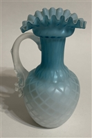 Satin Glass Ewer
