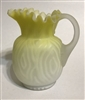 MOP Satin Glass Creamer - Moire Pattern