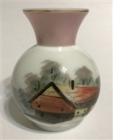 Victorian Art Glass Vase