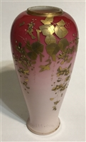 Webb Peach Blow Vase