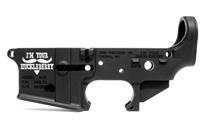 AERO PRECISION AR15 STRIPPED LOWER GEN 2 RECEIVER SPECIAL EDITION HUCKLEBERRY - BLACK ANODIZED
