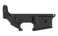 AERO PRECISION TEXAS AR15 Stripped Lower Receiver, Gen 2 - BLACK ANODIZED