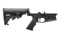 AERO PRECISION M5 (.308) COMPLETE LOWER RECEIVER W/ A2 GRIP & M4 STOCK - ANODIZED BLACK