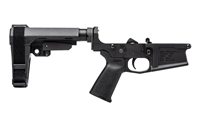 AERO PRECISION M5 (.308) PISTOL COMPLETE LOWER RECEIVER W/ SB TACTICAL SBA3 BRACE - ANODIZED BLACK