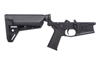 AERO PRECISION M5 (.308) COMPLETE LOWER RECEIVER W/ MOE SL GRIP & SLS CARBINE STOCK - ANODIZED BLACK