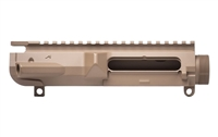 AERO PRECISION M5 THREADED UPPER RECEIVER - FLAT DARK EARTH CERAKOTE STRIPPED