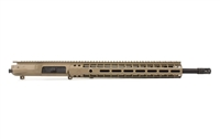 "AERO PRECISION - M5E1 18"" .308 CMV COMPLETE UPPER RECEIVER - MLOK FLAT DARK EARTH"