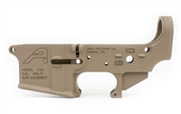 AERO PRECISION AR15 STRIPPED LOWER RECEIVER - FDE BLEM