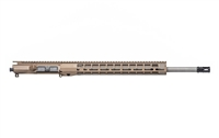"AERO PRECISION M4E1 THREADED 20"" 6.5 GRENDEL COMPLETE UPPER RECEIVER W/ ATLAS R-ONE HANDGUARD RAIL -FDE"