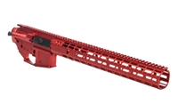"M4E1 ANODIZED RED BUILDER SET - LIMITED RUN - W/15"" MLOK RAIL"