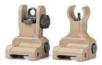 AERO PRECISION AR15 FRONT FLIP-UP SIGHT SET GEN 2 - FDE