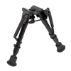 "Harris Ultralight Bipod 6""-9"" Bench Rest (BR) w/ Leg Notches"