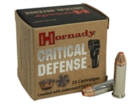 HORNADY CRITICAL DEFENSE 38 SPCL +P 110 GR FTX
