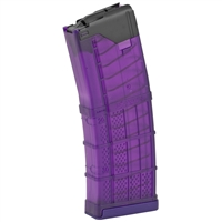 LANCER L5AWM 30RD MAGAZINE - TRANSLUCENT PURPLE