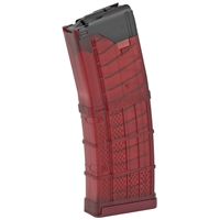 LANCER L5AWM 30RD MAGAZINE - TRANSLUCENT RED