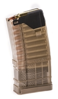 LANCER L5AWM 20RD MAGAZINE - TRANSLUCENT DARK EARTH