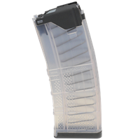 LANCER L5AWM 5.56MM 30RD MAG TRANSLUCENT - CLEAR
