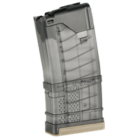 LANCER L5AWM 20RD 300 BLACKOUT MAGAZINE  - TRANSLUCENT SMOKE