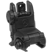 MAGPUL MBUS REAR FOLDING BACKUP SIGHT - BLACK