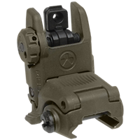 MAGPUL MBUS REAR FOLDING BACKUP SIGHT - OLIVE DRAB GREEN