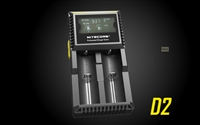 NITECORE D2 DIGICHARGER UNIVERSAL BATTERY CHARGER 18650 RCR123A 17650 17670 14500 AA AAA