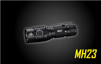 NITECORE MH23 THE MOST DIMINUTIVE 1800 LUMEN USB RECHARGEABLE LED FLASHLIGHT ON THE MARKET