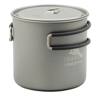 TOAKS Titanium 600ml Pot with lid