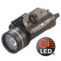 STREAMLIGHT TRL-1 HL RAIL MOUNTED TACTICAL GUN LIGHT- BLK - 1000 LUMEN
