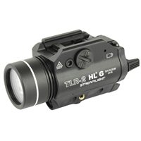 STREAMLIGHT TRL-2 HLG RAIL MOUNTED TACTICAL GUN LIGHT WITH GREEN LASER - BLK - 800 LUMEN