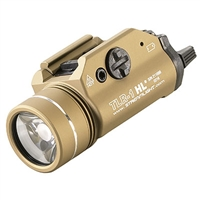 STREAMLIGHT TRL-1 HL RAIL MOUNTED TACTICAL GUN LIGHT- FDE - 800 LUMEN