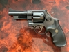 "USED SMITH & WESSON HIGHWAY PATROLMAN MODEL 28-2 WITH ""N"" SERIAL NUMBER PREFIX 4"" BARREL 357 MAGNUM"