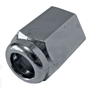 Steam Wand Connection Nut TAP JOINT NUT 3/8'' Nickel Plated