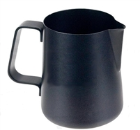 Easy Milk Pitcher 27 oz. Stainless Steel Black Non-Stick Coated