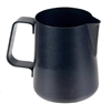 Easy Milk Pitcher 33 oz. Stainless Steel Black Non-Stick Coated