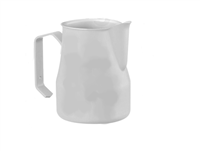 Europa Milk Pitcher Stainless Steel White 16 oz.