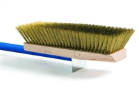 Adjustable Big Brush with Brass Bristles, Handle 59""