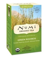 Numi Green Rooibos Organic Herbal Tea 100ct/1box